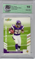 Adrian Peterson 2007 SCORE Vikings #341 Rookie Card PGI 10!