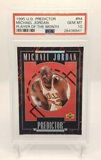 1995 Upper Deck Predictor Michael Jordan #R4 PSA 10 GEM MINT POP 2