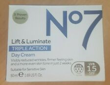Boots No. 7 Lift & Luminate Triple Action SPF 15 Day Cream - 50ml