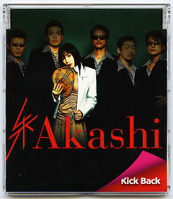 Akashi - Kick Back Live 2006 J-Pop Japan Promo CD Single G-Force Inc. GXCA-1110