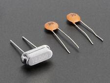 Adafruit 12 MHz Crystal + 20pF capacitors [ADA2214]