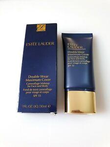 Estee Lauder Double Wear Maximum Cover Camouflage Makeup Foundation 30ml SPF 15