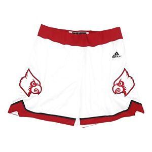 Louisville Cardinals NCAA Adidas Women's White F16 Basketball Shorts