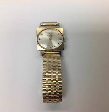 Vintage WITTNAUER GENEVE 10K GOLD Manual Wind WATCH  Bracelet Stretch 10k top