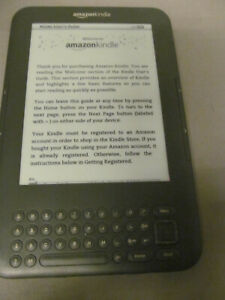 "Amazon Kindle Keyboard 3rd Gen 4 GB Wi-Fi 6"" 0T9J"
