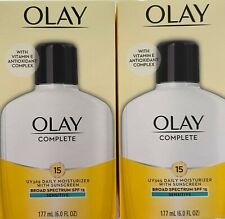 ✦ NEW ✦  2 OLAY COMPLETE DAILY MOISTURIZER WITH SPF 15 SENSITIVE EXP: 2021