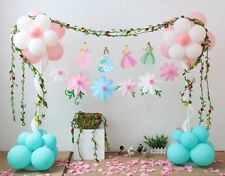 Princess Ballerina Ballet Flower Bunting Banner DIY Party Hanging Decoration