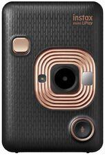 FUJIFILM instax mini LiPlay Instant Film Camera Elegant Black NEW from Japan