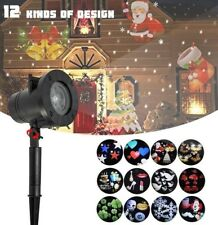 12P Christmas Projector Light Moving Led Laser Landscape Outdoor party Lamp