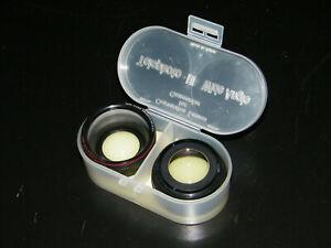 Hama Video Lens Weitweinkel Hr-0, 65x And Hr 1,5x 10