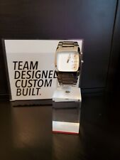 Nixon The Banks Men's White Dial Stainless Steel Watch RUNNING