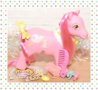 ❤️My Little Pony MLP G1 Vtg Surprise Twins Mommy & Babies Nirvana Pink Stork❤️