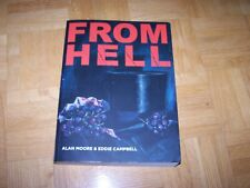 large softcover FROM HELL graphic comic by Alan Moore & (Eddie Campbell - signed