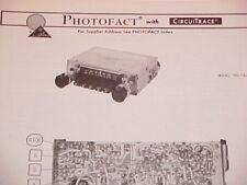 New listing 1976 Audiovox Am-Fm Radio Service Manual To-75-Fm Chevrolet Ford Chrysler Dodge