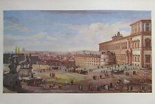Gaspare van Wittel: Piazza del Quirinale, Rom - Vedute Kunstdruck art print