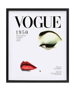 Vintage VOGUE Print Vogue Cover Wall Decor Art Fashion Magazine