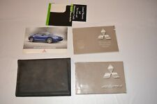 2006 MITSUBISHI ECLIPSE OWNERS MANUAL GUIDE BOOK SET WITH CASE OEM