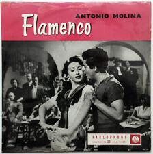 Antonio Molina Flamenco Rare original gold black UK Parlophone LP 1957 Latin Ex
