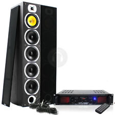 Complete Hi-Fi Home Cinema Speakers System Bluetooth Amplifier 600W UK Stock