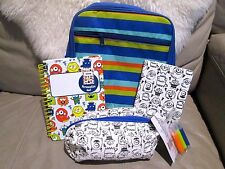 New - Horizon Personalize set (Hand Bag , Pencil Pouch , 2 x Journal Book )