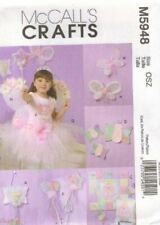 McCalls Sewing Pattern 5948 Craft Girls Door Hanging Pillow Quilt Wall Butterfly