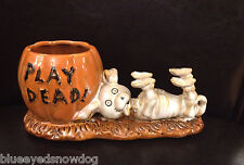 Yankee Candle Boney Bunch 2012 Play Dead Dog  ~ NIB ~ SOLD OUT