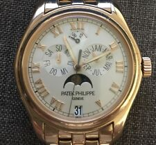 Patek philippe Annual Calendar 5036 r-001 18ct Rosegold complications MoonPhase