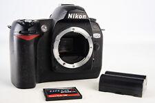 Nikon D70 6.1MP Digital SLR Camera Body with 256MB CF Card & Battery V10