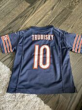 Kids Nike Chicago Bears Official Jersey Size Large 7 Number 10 Trubisky