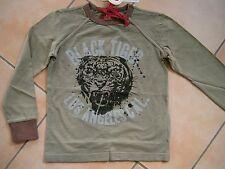 (390) RARE-The Kid Boys Shirt + Tiger Los Angeles & Logo Schriftzug Druck gr.116