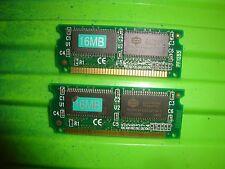 2pcs 16MB DRAM EDO SODIMM 72pin 3.3v memory module