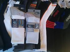 12 pair socks Smooth Toe Driwear Cotton works sports antibacterial size 7-11
