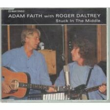 Adam Faith with Roger Daltrey Stuck In The Middle 3 Track UK CD Single The Who