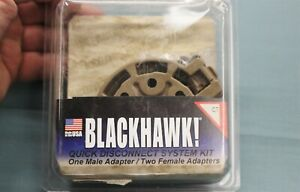 BLACKHAWK QUICK DISCONNECT SYSTEM KIT ONE MALE TWO FEMALE ADAPTERS 430950CT NIP