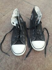 Converse All Star Slim Black High Tops Women 5 / Men 3