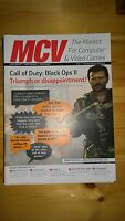 MCV Magazine ~ November 23 2012 ~Call of Duty: Black Ops II~ Trade only magazine