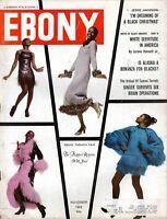 """EBONY MAGAZINE-NOV 1969-FLAPPER RETURNS-B.B. KING-BLACK CLOWN-""""BLACK CHRISTMAS""""-"""