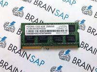 4GB DDR3 RAM Unifosa HU6E4403EP0200 SO-DIMM - 2Rx8 PC3-10600S 1333 MHz