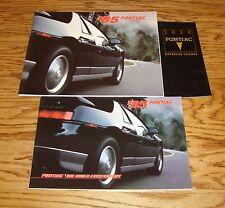1985 Pontiac Sales Brochure & Exterior Color 3 Piece Lot 85