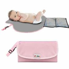 Portable Diaper Changing Pad Mat Waterproof Folding Station Travel Carrying Bag