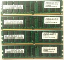 Samsung 16GB 4x4GB 667MHz PC2-5300P DDR2 ECC Ram Sun Certified M393T5160QZA-CE6