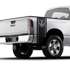Freemason illuminati sticker bed band for pickup truck Logo Toyota GMC Chevy 016
