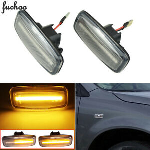 For Nissan Bluebird Sunny Teana J31 Murano Side Marker Light Sequential LED