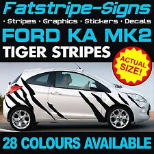 FORD KA MK2 TIGER STRIPES GRAPHICS DECALS STICKERS ST STREET SPORT 1.2 1.4 RS