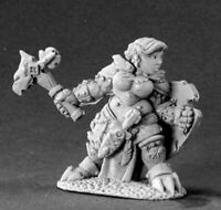 1 x NALILA GOLDHAMMER - DARK HEAVEN LEGENDS REAPER miniature jdr rpg nain 03413