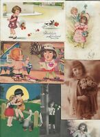 Happy Birthday Happy New Year Kids Animals and more Postcard Lot of 20   01.16