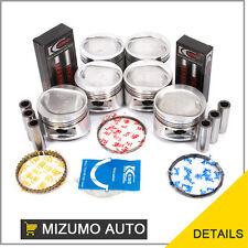 Fit Mitsubishi 3.0L SOHC 12V 6G72 Pistons Rings Bearings