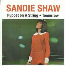 SANDIE SHAW PUPPET ON A STRING - TOMORROW 45 GIRI
