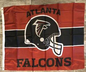 Atlanta Falcons Football NFL 3x4 Banner Flag Mancave Tailgate FREE SHIPPING