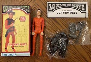 Marx Johnny West Plastimarx  Lo Mejor Del Oeste Best Of The West Box Orange